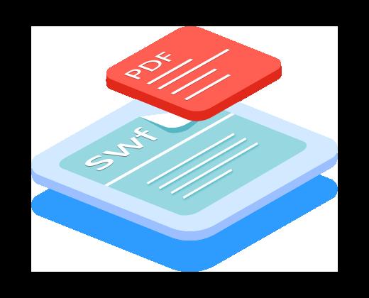 万彩办公大师官网,PDF批量转SWF工具