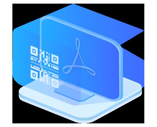 万彩办公大师官网,PDF417条码生成工具